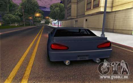 Elegy Explosion v1 pour GTA San Andreas laissé vue