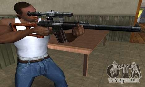 Old Sniper pour GTA San Andreas deuxième écran