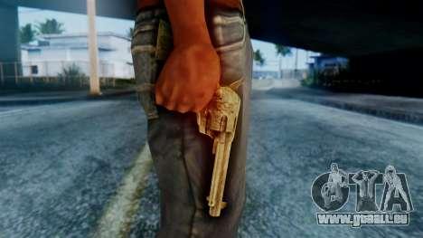 Red Dead Redemption Revolver pour GTA San Andreas troisième écran
