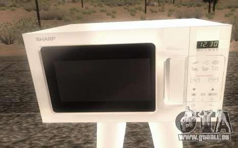 Microwave from Goat MMO für GTA San Andreas zweiten Screenshot
