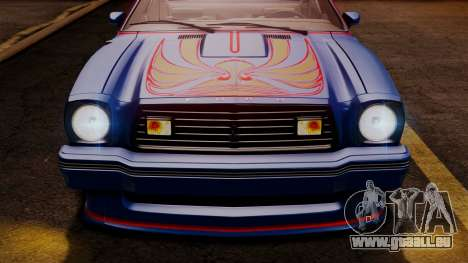 Ford Mustang King Cobra 1978 pour GTA San Andreas roue