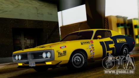 Dodge Charger Super Bee 426 Hemi (WS23) 1971 für GTA San Andreas obere Ansicht