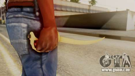 Red Dead Redemption Katana Assasin für GTA San Andreas zweiten Screenshot