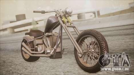 LCC Hexer GTA 5 IVF für GTA San Andreas rechten Ansicht