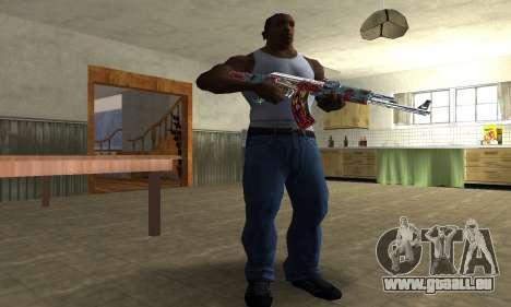 Cool Graf AK-47 pour GTA San Andreas troisième écran