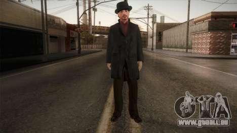 Sherlock Holmes v1 pour GTA San Andreas deuxième écran
