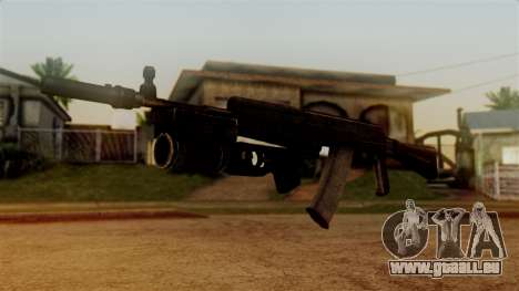 An-94 Abakan für GTA San Andreas zweiten Screenshot