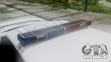 Hunter Citizen v3 IVF pour GTA San Andreas vue arrière