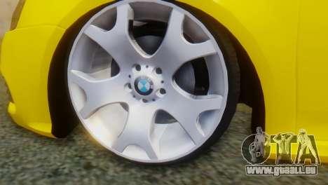 Volkswagen Golf R32 AirQuick für GTA San Andreas zurück linke Ansicht