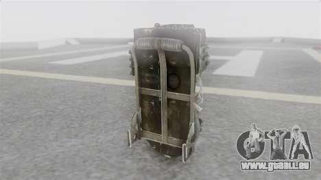 Ghostbuster Rucksack pour GTA San Andreas deuxième écran