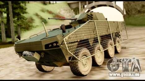 KTO Rosomak M1M pour GTA San Andreas