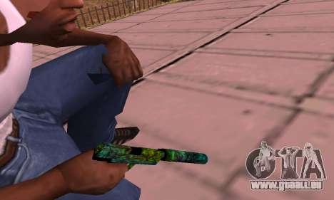 USP Doggers pour GTA San Andreas deuxième écran