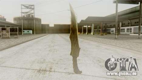 Elven Dagger für GTA San Andreas zweiten Screenshot