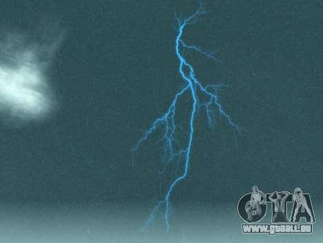 Réaliste orage pour GTA San Andreas