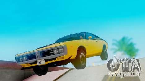 Dodge Charger Super Bee 426 Hemi (WS23) 1971 pour GTA San Andreas vue de droite
