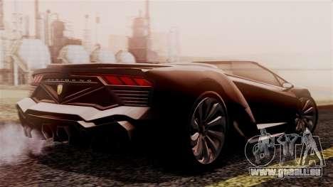 Pegassi Zentorno Cabrio v2 für GTA San Andreas linke Ansicht