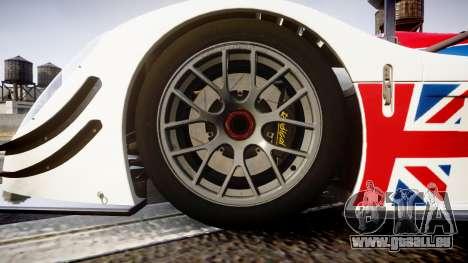 Radical SR8 RX 2011 [28] für GTA 4 Rückansicht
