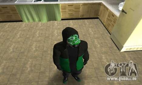 Fam White für GTA San Andreas zweiten Screenshot
