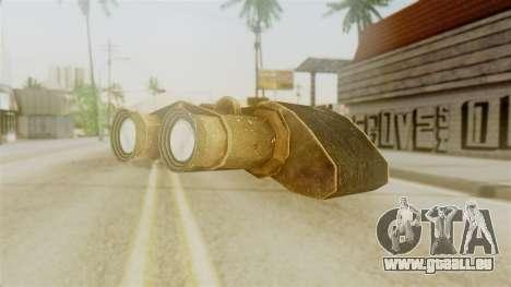 Red Dead Redemption Binocular pour GTA San Andreas deuxième écran