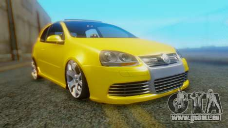 Volkswagen Golf R32 AirQuick pour GTA San Andreas