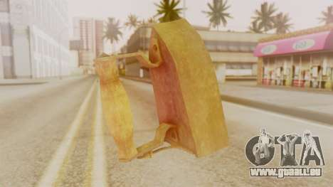 Red Dead Redemption Brassknuvle für GTA San Andreas zweiten Screenshot