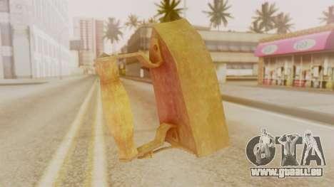 Red Dead Redemption Brassknuvle für GTA San Andreas zweiten Screenshot