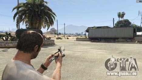 GTA 5 Halo UNSC: Magnum Siebter Screenshot