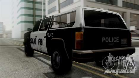Alternative FBI Rancher für GTA San Andreas linke Ansicht