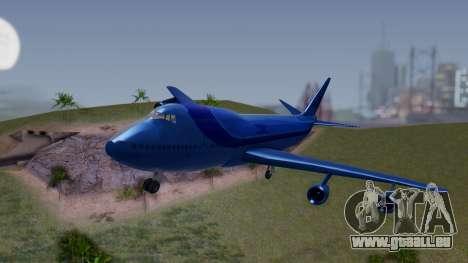 AT-400 Argentina Airlines pour GTA San Andreas vue arrière
