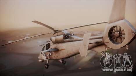 Harbin WZ-19 pour GTA San Andreas laissé vue