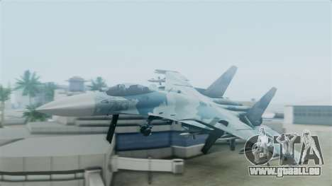 Sukhoi SU-33 Flanker-D für GTA San Andreas