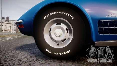 Chevrolet Corvette ZR1 1970 [EPM] für GTA 4 Rückansicht