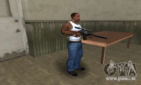 Old Sniper pour GTA San Andreas troisième écran