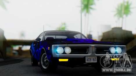 Dodge Charger Super Bee 426 Hemi (WS23) 1971 pour GTA San Andreas vue de côté