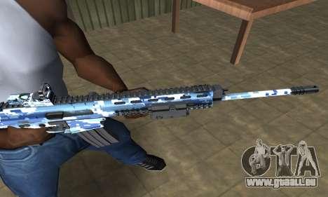 Pixel M4 pour GTA San Andreas deuxième écran