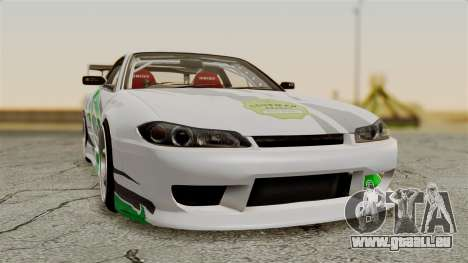Nissan Silvia S15 24AUTORU für GTA San Andreas Rückansicht