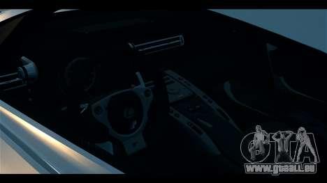 Lexus LF-A 2010 EPM pour GTA 4 Vue arrière