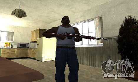 Snake Rifle pour GTA San Andreas troisième écran