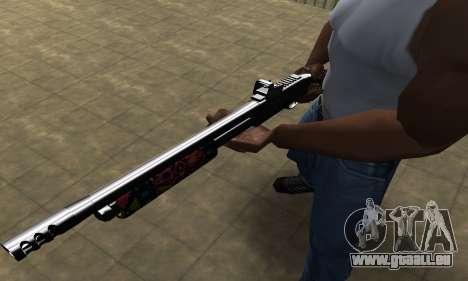 National Shotgun pour GTA San Andreas deuxième écran
