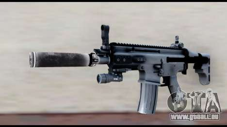 MK16 PDW Advanced Quality v2 für GTA San Andreas