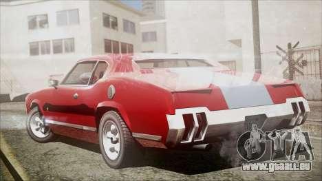 Sabre Turbocharged für GTA San Andreas linke Ansicht