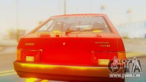 2109 Stoke für GTA San Andreas Innenansicht