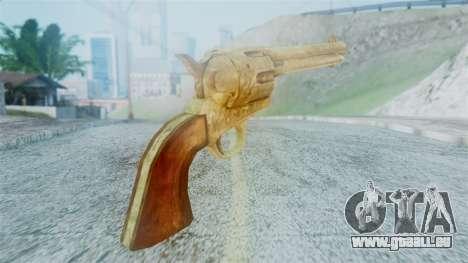 Red Dead Redemption Revolver Cattleman Diego v2 für GTA San Andreas zweiten Screenshot