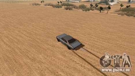 Offroad Effect pour GTA San Andreas deuxième écran