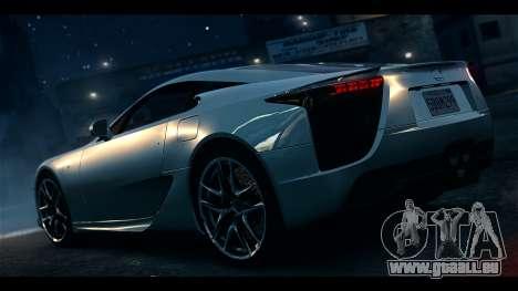 Lexus LF-A 2010 EPM pour GTA 4 est une gauche
