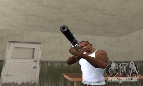 Black Lines Rifle pour GTA San Andreas deuxième écran