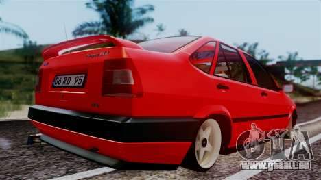 Fiat Tempra für GTA San Andreas zurück linke Ansicht