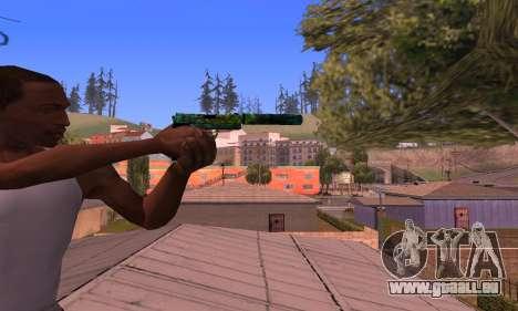 USP Doggers pour GTA San Andreas troisième écran