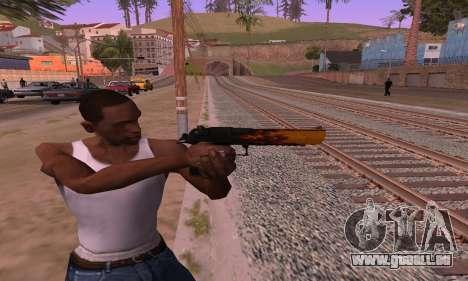 Deagle Flame pour GTA San Andreas