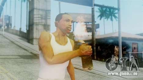 Red Dead Redemption Molotov für GTA San Andreas dritten Screenshot